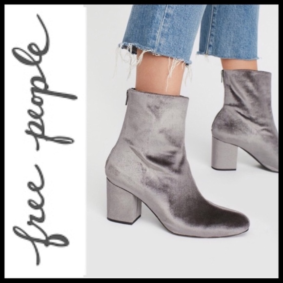 Free People Schuhes Schuhes People   Nwob Cecile Block Heel Bootie   Poshmark ac284f